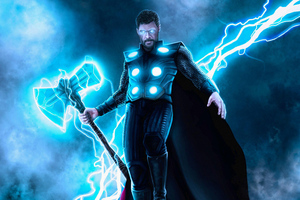 Thor God Of Thunder New Artwork