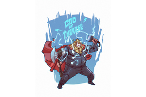 Thor God Thunder Wallpaper