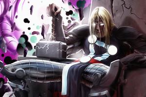 Thor Herald Of Thunder Wallpaper