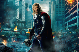 Thor In Avengers Age Of Ultron 5k Wallpaper
