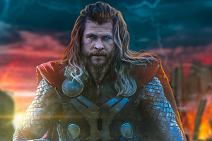 Thor In Avengers Endgame New