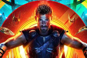 Thor In Thor Rangnarok 2017