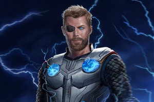 Thor Lighting Art Wallpaper
