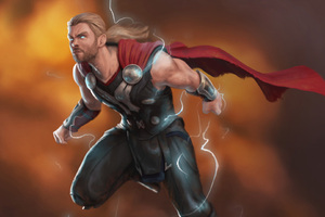 Thor Lighting God