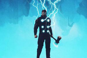 Thor Lighting Thunder Wallpaper