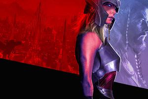 Thor Love And Thunder 2021 Asgard Wallpaper