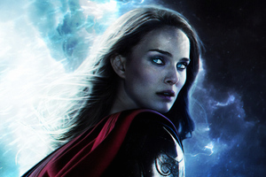 Thor Love And Thunder 2021 Jane Foster Wallpaper