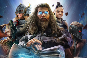 Thor Love And Thunder Movie 2022 Wallpaper