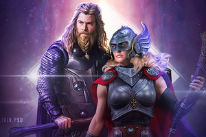 Thor Love And Thunder Wallpaper