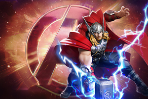 Thor Marvel Super War Wallpaper