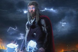 Thor New 4k Wallpaper