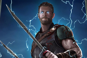 Thor New Art 4k Wallpaper