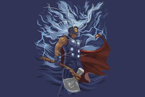 Thor Powers 5k Wallpaper