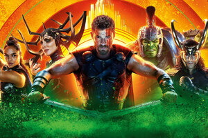 Thor Ragnarok 2017 Movie 8k
