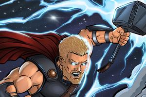 Thor Ragnarok 4k Artwork