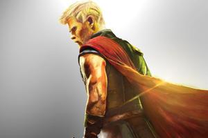 Thor Ragnarok Digital Painting