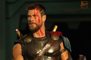 Thor Ragnarok HD Artwork
