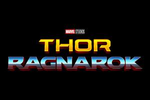 Thor Ragnarok Logo Retro Wallpaper