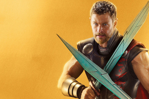 Thor Ragnarok SuperHero Wallpaper
