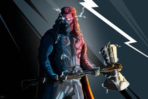 Thor Stormbreaker Wallpaper