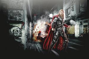 Thor Superhero Wallpaper