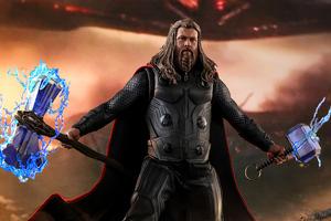 Thor Thunder Avengers Endgame Wallpaper
