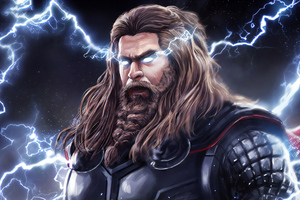 Thor Thunder Lighting 4k