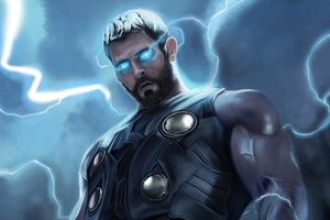 Thor Thunder Man Wallpaper