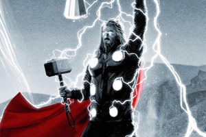 Thor Thunderart Wallpaper