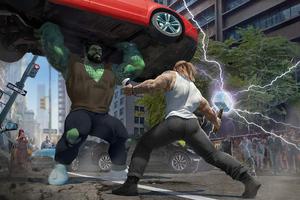 Thor Vs Hulk 4k Wallpaper