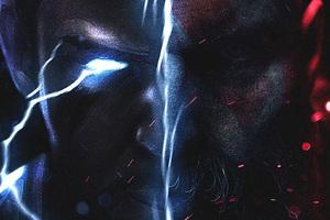 Thor Vs Kratos