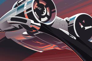 Thunderbolt Scifi Ship 4k Wallpaper