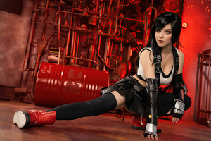 Tifa Lockhart Cosplay 4k Wallpaper