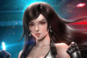 Tifa Lockhart Fantasy Art 4k