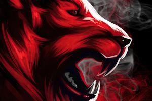 Tiger Roar Art 4k