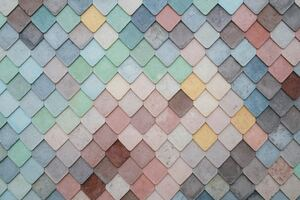 Tile Pattern Pastel 5k Wallpaper