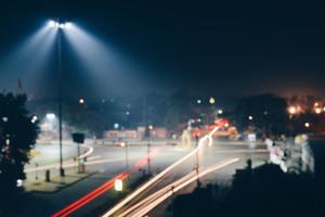 Time Lapse Road Blur