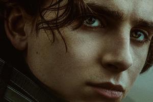 Timothee Chalamet As Paul Atreides In Dune Movie Wallpaper