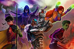 Titans 2019art Wallpaper
