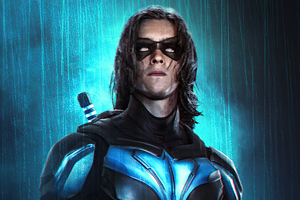 Titans Nightwing 4k Wallpaper