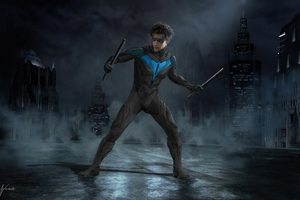 Titans Nightwing 5k Wallpaper