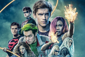 Titans Season 2 2019 Wallpaper