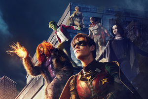 Titans Season 2 2020 Wallpaper