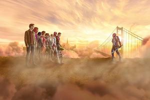 Titans Season 3 Cast Poster Wallpaper