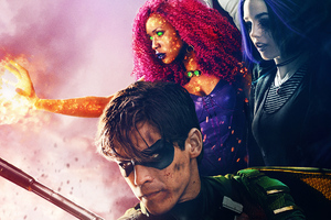 Titans Tv Series Wallpaper