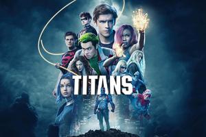 Titans Tv Series Poster 4k Wallpaper