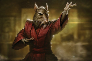 TMNT Master Splinter 4k Wallpaper