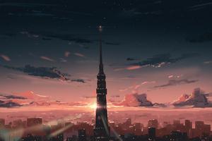 Tokyo City Building 4k Wallpaper