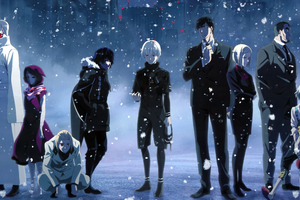Tokyo Ghoul 1336x768 Resolution Wallpapers Laptop Hd