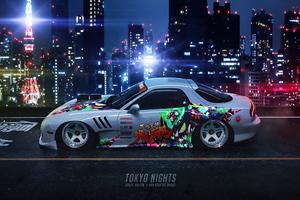Tokyo Nights Wallpaper